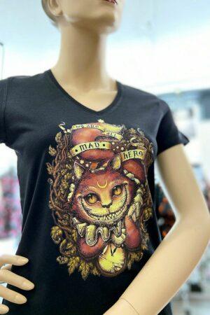 T-Shirt : Chat du Cheshire