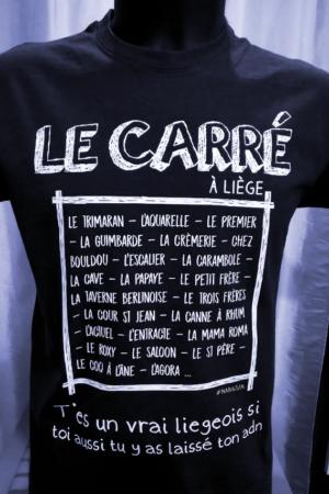 T-Shirt : Le Carré – Liège