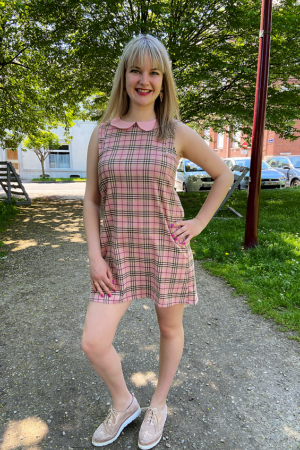 SMALL TOWN GIRL SLEEVELESS DRESS