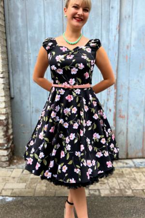 LITTLE PINK FLOWERS DRESS